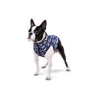 "Курточка WAUDOG для собак, рисунок ""Бэтмен бело-голубой"", размер XS25"