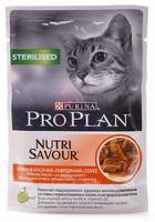 Проплан паучи Нежные кусочки в соусе Sterilised Nutri Savour (говядина), 85 гр.