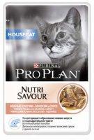 Проплан паучи Нежные кусочки в соусе Housecat Nutri Savour (лосось), 85 гр.
