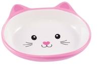 Миска керамическая керамикАрт мордочка кошки 160мл