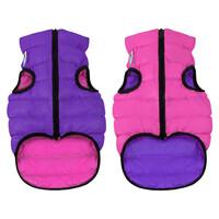 Двусторонняя курточка AiryVest розово-фиолетовая, размер XS25