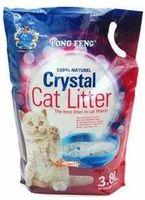 Crystal Cat Litter LONG FENG, 3.8л