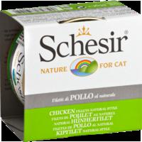 Schesir Cat 85г конс. д/кошек Куриное филе