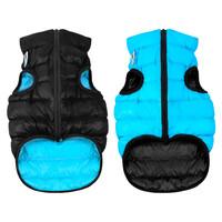Двусторонняя курточка AiryVest черно-голубая, размер M40