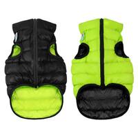 Двусторонняя курточка AiryVest салатово-черная, размер XS22