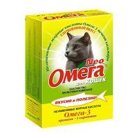 Омега NEO Протеин + L карнитин д/кошек 90таб