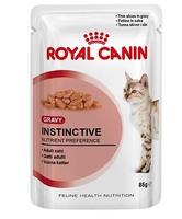 Роял канин INSTINCTIVE GRAVY 85 g  в соусе д/взрослых кошек
