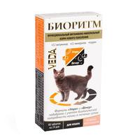 БИОРИТМ д/кошек Морепродукты 48таб
