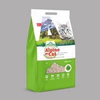 Alpen cat тофу гранулы зеленый чай 12л (соевый)