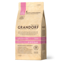 GRANDORF Lamb & Brown Rice Kitten 400 гр- ягнёнок с бурым рисом для котят