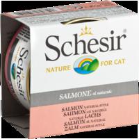 Schesir Cat 85г конс д/кошек ж/б Лосось натуральный