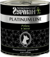 Четвероногий гурман Platinum line Рубец говяжий в желе 240 гр.