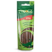 Триол (TRIOL) аппетитные колбаски из утки для кошек, 40 гр.