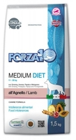 Корм для собак сред. пород Форза Forza 10 Medium Diet из ягненка, 1.5 кг