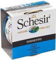 Schesir Cat 85г конс д/кошек ж/б Тунец