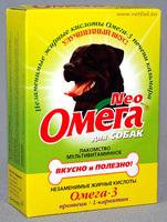 Омега NEO Протеин + Карнитин д/собак 90таб