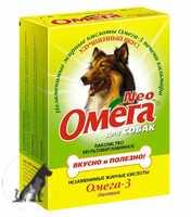 Омега NEO Биотин д/собак 90таб