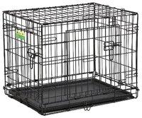 MidWest contour клетка для собак, 2 двери, размер 90*58*64см