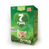 """Травка для кошек """"7 трав"""" 75г, лоток для проращивания"""