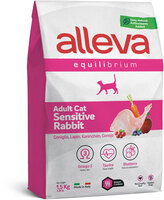 Аллава эквилибриум сенсетив 1,5кг для кошек кролик