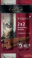 Edel Cat колбаски-мини говядина/салями (4шт.)