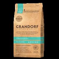 GRANDORF 4 Meat Adult 3 кг - 4 мяса с бурым рисом для собак всех пород
