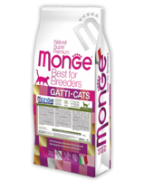 Монже 10 кг cухой корм для кошек с чувствительным пищеварением