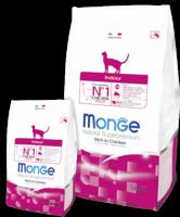 Монже 1,5 кг cухой корм для кошек, живущих в помещении