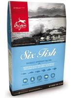Ориджен корм для собак Orijen 11,4 кг 6 видов рыб  Six Fish