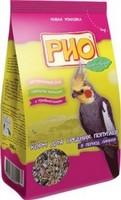 РИО корм для средних попугаев в период линьки, 500 г