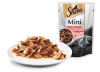 SHEBA (Шеба) мини порция, ломтики Говядина 50 г пауч