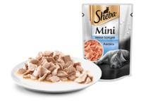 SHEBA (Шеба) мини порция, ломтики Лосось 50 г пауч