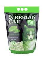 Сибирская кошка Тофу 12л. наполнитель Зеленый чай